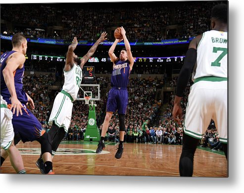 Nba Pro Basketball Metal Print featuring the photograph Devin Booker by Brian Babineau
