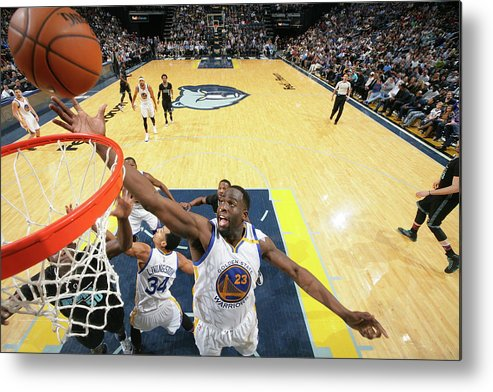Nba Pro Basketball Metal Print featuring the photograph Draymond Green by Joe Murphy