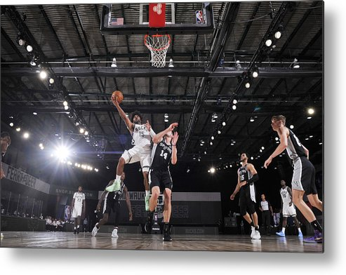 Nba Pro Basketball Metal Print featuring the photograph Frank Mason by Jesse D. Garrabrant