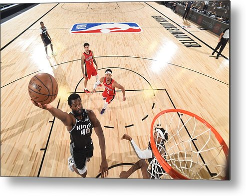 Nba Pro Basketball Metal Print featuring the photograph Harrison Barnes by Joe Murphy