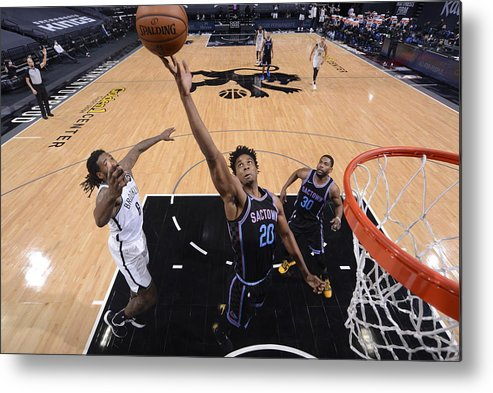 Nba Pro Basketball Metal Print featuring the photograph Hassan Whiteside by Rocky Widner