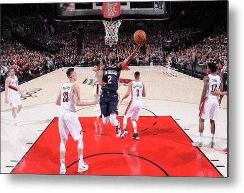 Playoffs Metal Print featuring the photograph Ian Clark by Sam Forencich