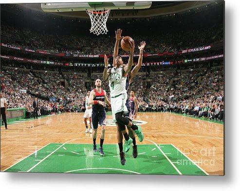 Playoffs Metal Print featuring the photograph Isaiah Thomas by Ned Dishman