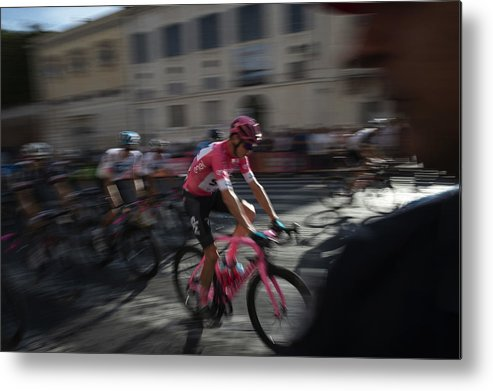 People Metal Print featuring the photograph Italian Daily News - May by Antonio Masiello