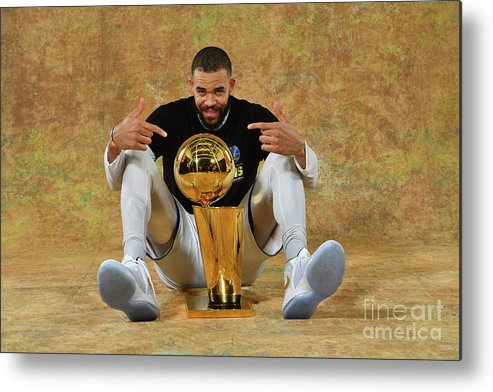 Playoffs Metal Print featuring the photograph Javale Mcgee by Jesse D. Garrabrant