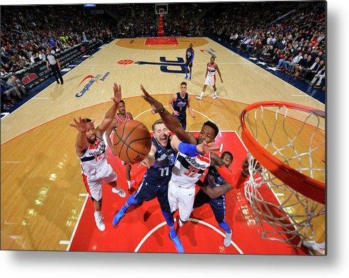 Nba Pro Basketball Metal Print featuring the photograph Jeff Green by Jesse D. Garrabrant