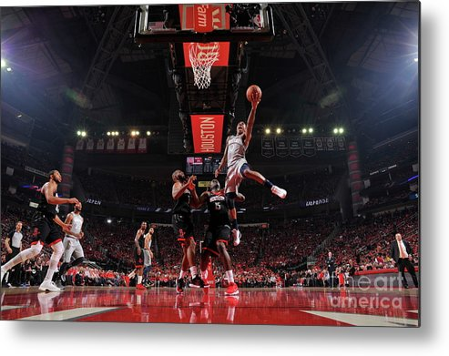 Playoffs Metal Print featuring the photograph Jeff Teague by Bill Baptist