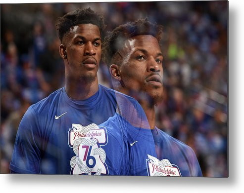Playoffs Metal Print featuring the photograph Jimmy Butler by David Dow