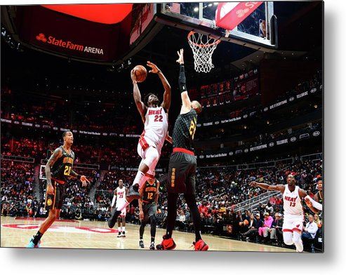 Atlanta Metal Print featuring the photograph Jimmy Butler by Scott Cunningham