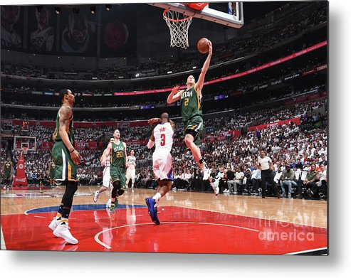 Playoffs Metal Print featuring the photograph Joe Ingles by Andrew D. Bernstein
