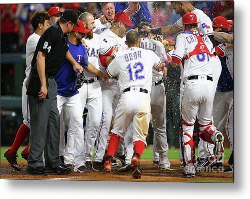 Ninth Inning Metal Print featuring the photograph Joey Gallo by Rick Yeatts
