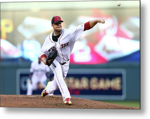 People Metal Print featuring the photograph Jon Lester by Elsa