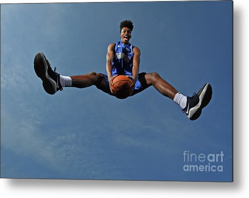 Nba Pro Basketball Metal Print featuring the photograph Jonathan Isaac by Jesse D. Garrabrant