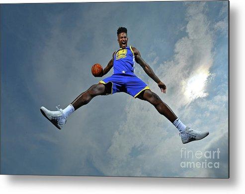 Nba Pro Basketball Metal Print featuring the photograph Jordan Bell by Jesse D. Garrabrant