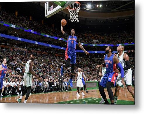 Nba Pro Basketball Metal Print featuring the photograph Kentavious Caldwell-pope by Brian Babineau