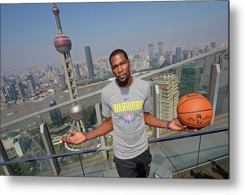 Event Metal Print featuring the photograph Kevin Durant by David Dow