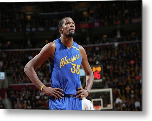 Nba Pro Basketball Metal Print featuring the photograph Kevin Durant by David Sherman