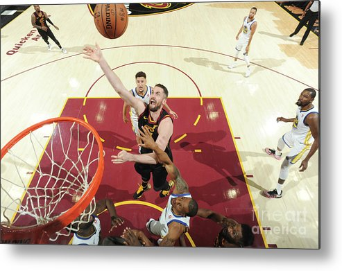 Playoffs Metal Print featuring the photograph Kevin Love by Andrew D. Bernstein