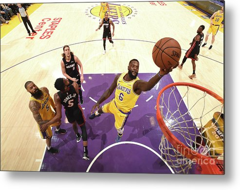 Nba Pro Basketball Metal Print featuring the photograph Lance Stephenson by Andrew D. Bernstein