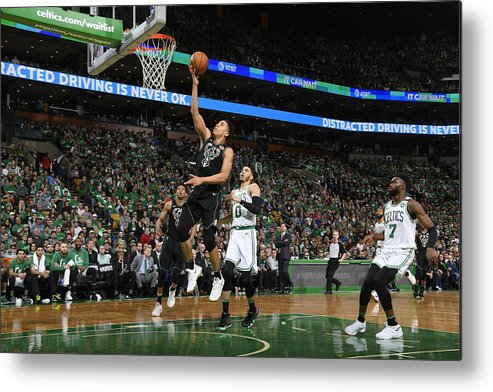 Playoffs Metal Print featuring the photograph Malcolm Brogdon by Brian Babineau