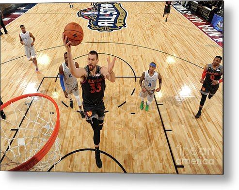 Event Metal Print featuring the photograph Marc Gasol by Andrew D. Bernstein