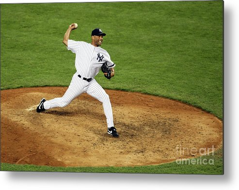People Metal Print featuring the photograph Mariano Rivera by Nick Laham