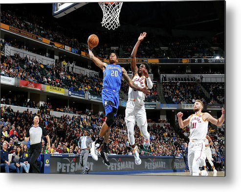 Nba Pro Basketball Metal Print featuring the photograph Markelle Fultz by Ron Hoskins