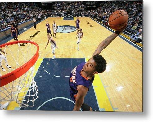 Nba Pro Basketball Metal Print featuring the photograph Marquese Chriss by Joe Murphy