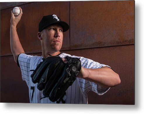Media Day Metal Print featuring the photograph Matt White by Rob Tringali