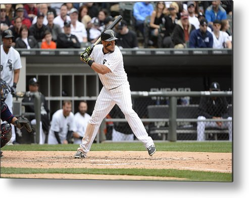 American League Baseball Metal Print featuring the photograph Melky Cabrera by Ron Vesely