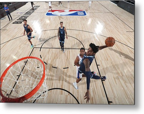 Nba Pro Basketball Metal Print featuring the photograph Memphis Grizzlies v Philadelphia 76ers by Joe Murphy
