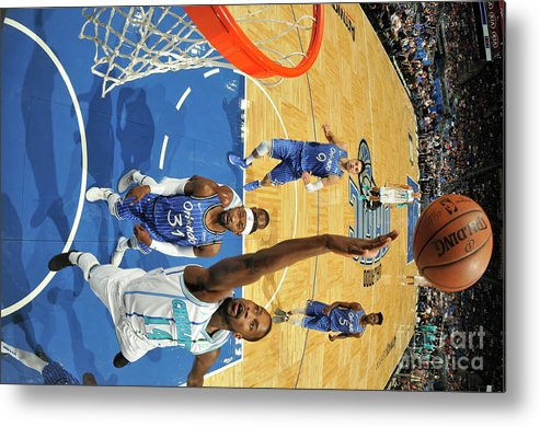 Nba Pro Basketball Metal Print featuring the photograph Michael Kidd-gilchrist by Fernando Medina