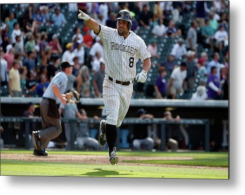 People Metal Print featuring the photograph Michael Mckenry by Doug Pensinger