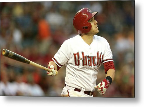 National League Baseball Metal Print featuring the photograph Miguel Montero by Christian Petersen
