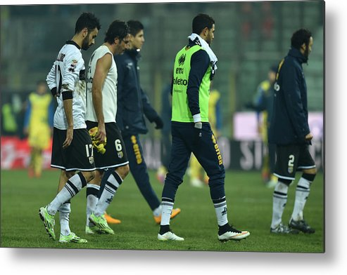 Sports Ball Metal Print featuring the photograph Parma FC v AC Chievo Verona - Serie A by Valerio Pennicino