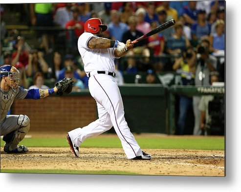 People Metal Print featuring the photograph Prince Fielder by Sarah Crabill