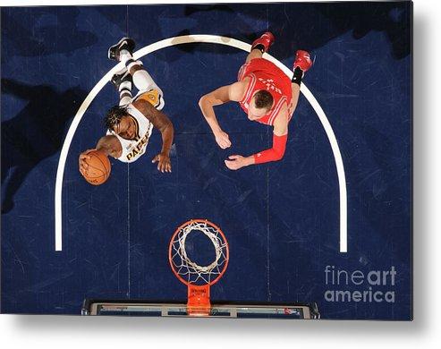Nba Pro Basketball Metal Print featuring the photograph Rakeem Christmas by Ron Hoskins