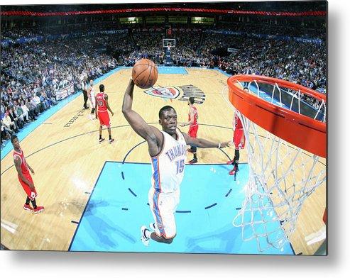 Nba Pro Basketball Metal Print featuring the photograph Reggie Jackson by Layne Murdoch Jr.
