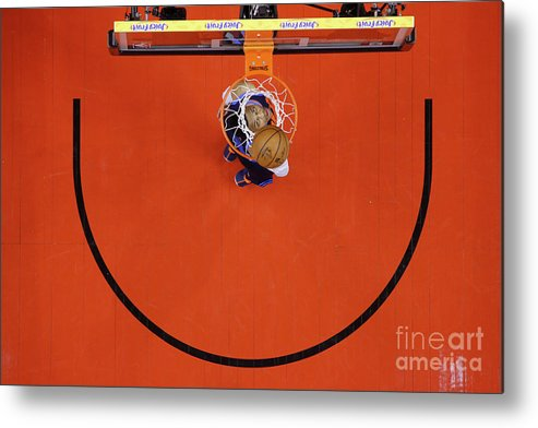 Nba Pro Basketball Metal Print featuring the photograph Russell Westbrook by Mark Blinch