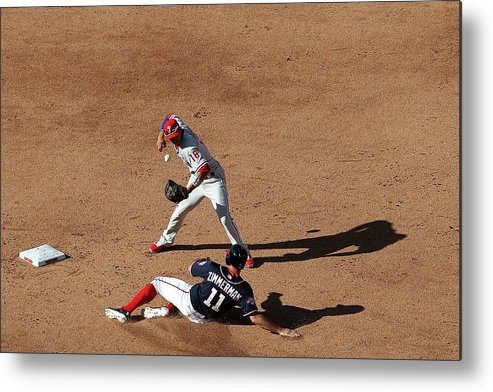 People Metal Print featuring the photograph Ryan Zimmerman by Patrick Smith