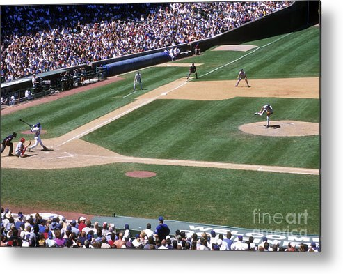 Motion Metal Print featuring the photograph Sammy Sosa by Jonathan Daniel