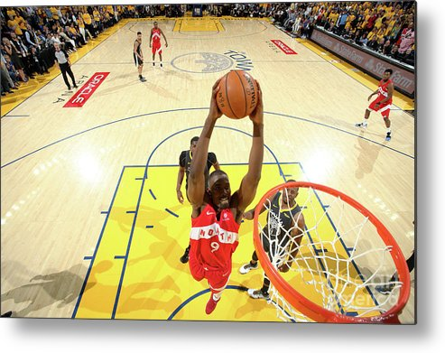 Playoffs Metal Print featuring the photograph Serge Ibaka by Nathaniel S. Butler