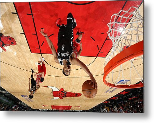 Nba Pro Basketball Metal Print featuring the photograph Spencer Dinwiddie by Gary Dineen