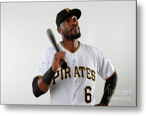 Media Day Metal Print featuring the photograph Starling Marte by Brian Blanco