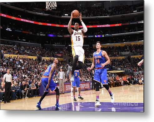 Nba Pro Basketball Metal Print featuring the photograph Thomas Robinson by Andrew D. Bernstein