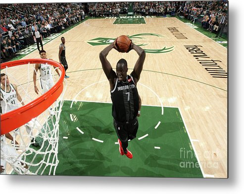 Playoffs Metal Print featuring the photograph Thon Maker by Gary Dineen