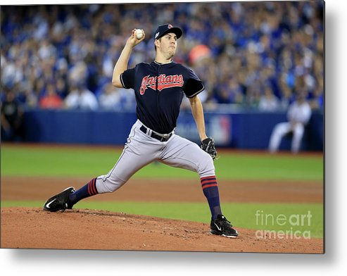 People Metal Print featuring the photograph Trevor Bauer by Vaughn Ridley