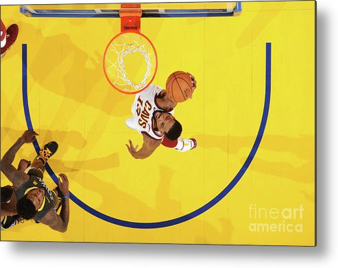 Playoffs Metal Print featuring the photograph Tristan Thompson by Andrew D. Bernstein