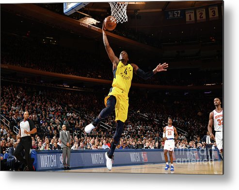 Nba Pro Basketball Metal Print featuring the photograph Victor Oladipo by Jesse D. Garrabrant
