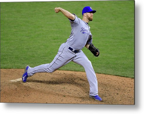 San Francisco Metal Print featuring the photograph Wade Davis by Jamie Squire